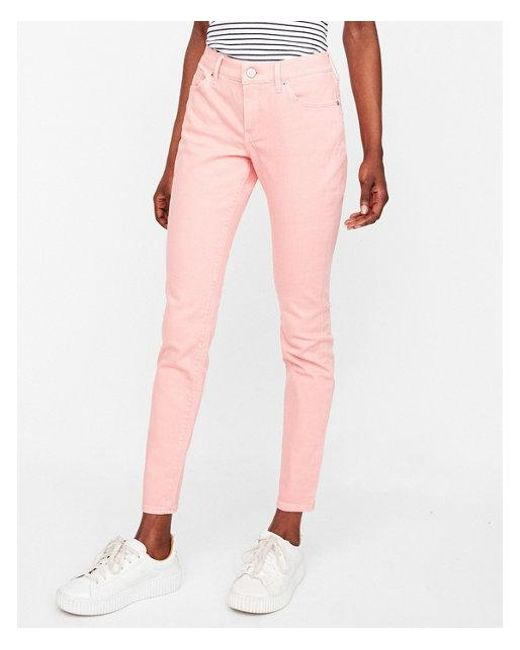 Express - Pink Mid Rise - Lyst