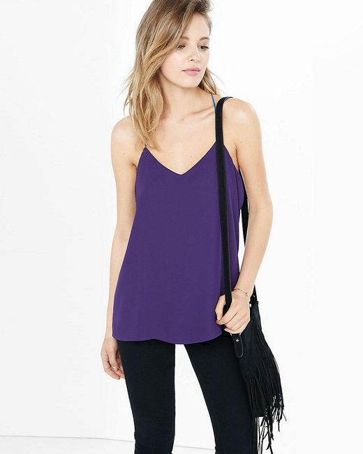 Express | Purple Barcelona Cami | Lyst