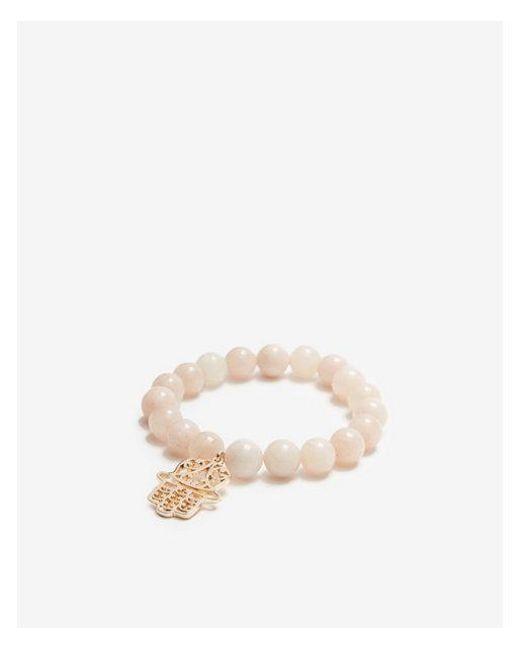 Express - Pink Filigree Hamsa Prayer Beads - Lyst