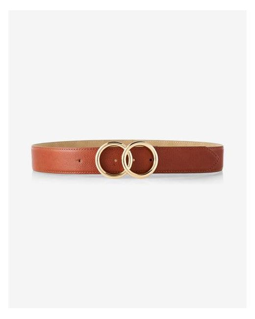 b2fdcca01c9 Lyst - Express Double O-ring Belt in Brown