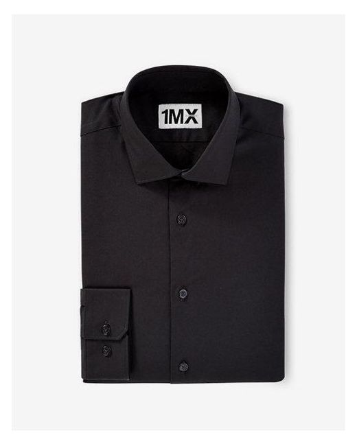 Express | Black Fitted 1mx Shirt for Men | Lyst