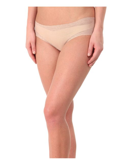 Commando | Natural Weightless Lace Panty Bk08 | Lyst