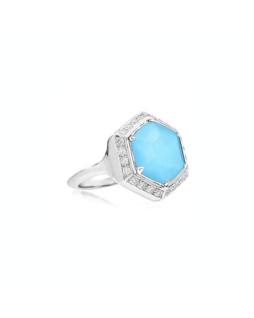 Stephen Webster   Blue Mini Deco Haze Ring   Lyst