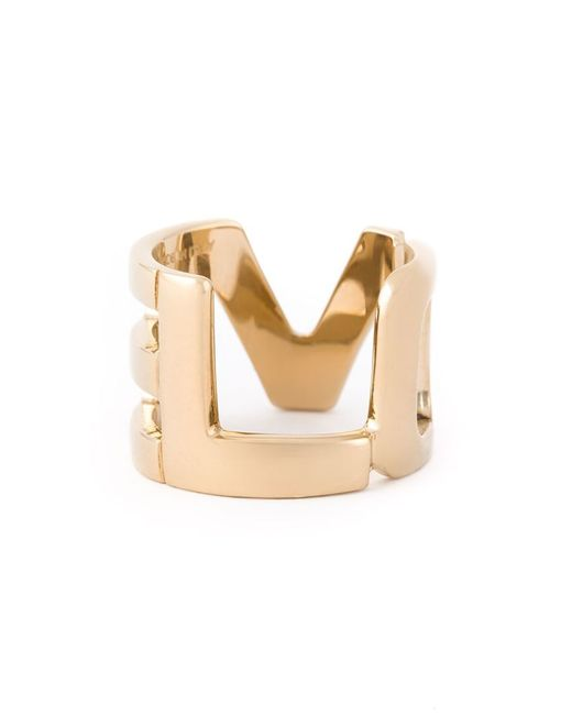 Givenchy | Metallic Love Ring | Lyst