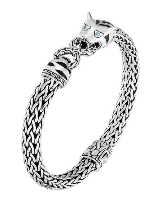 John hardy classic chain silver medium macan bracelet in for John hardy jewelry factory bali
