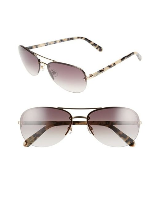 kate spade new york | Pink 'beryls' 59mm Sunglasses | Lyst