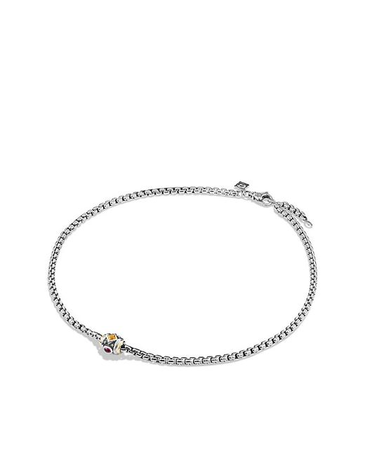 David Yurman | Metallic Necklace With Citrine, Rhodalite Garnet And 18k Gold | Lyst