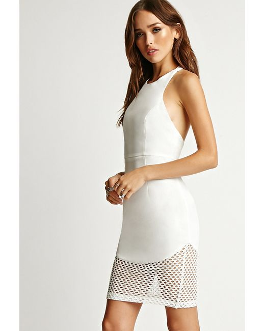 Rise Of Dawn | White One And Only Halter Dress | Lyst