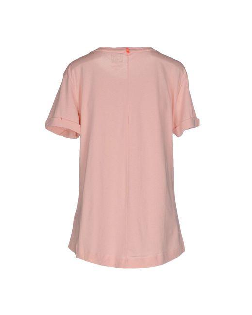 Helly Hansen | Pink T-shirt | Lyst