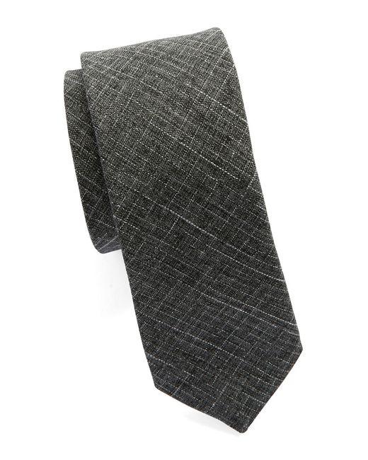 Original Penguin   Gray Textured Tie for Men   Lyst