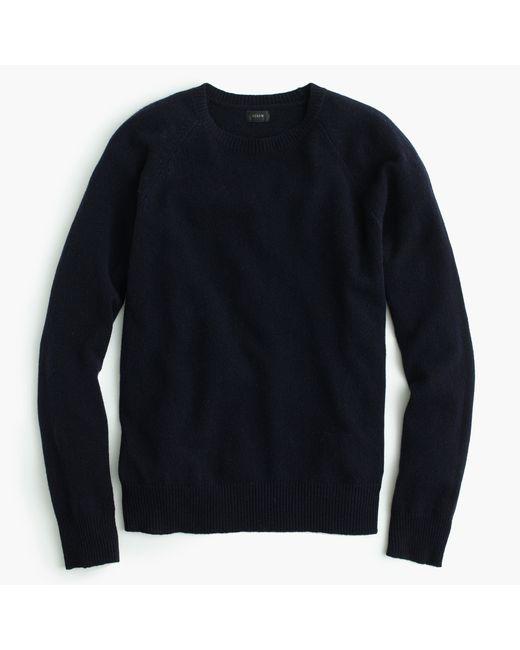 J.Crew | Blue Lambswool Sweater | Lyst