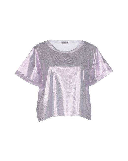 Philosophy di Alberta Ferretti | Purple Sweater | Lyst