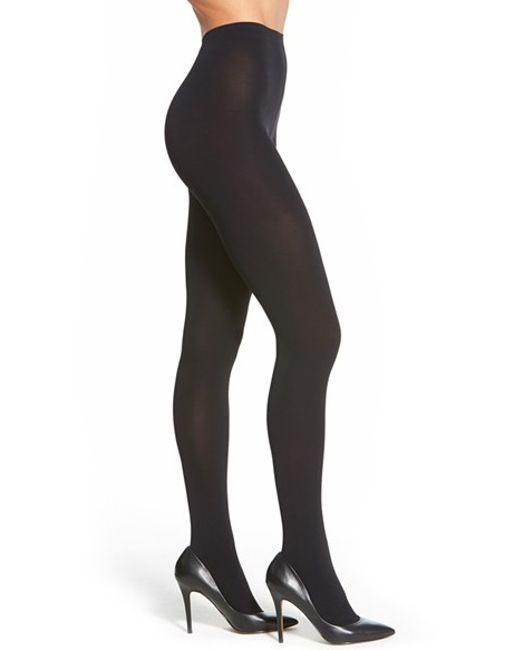 Falke | Black 'pure Matte 100' Opaque Tights | Lyst