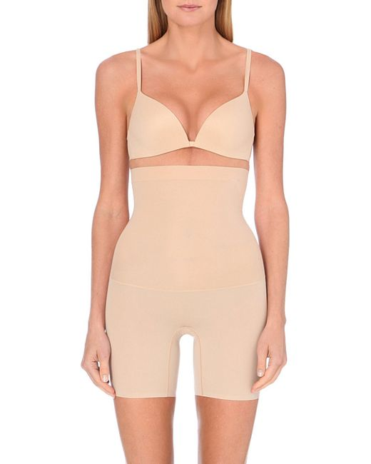 Spanx | Natural Shape My Day High-waisted Shorts | Lyst