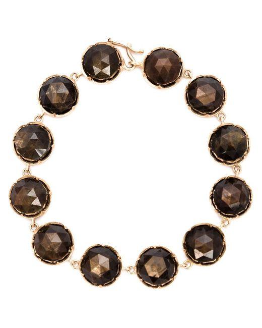 Irene Neuwirth | Black Sapphire Stone Bracelet | Lyst