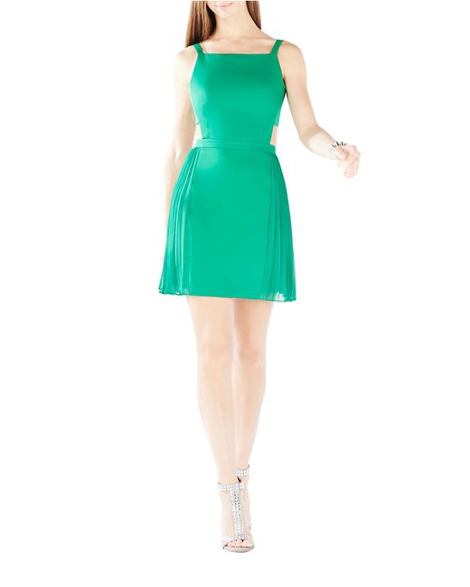 BCBGMAXAZRIA | Green Brielle Open-back Dress | Lyst