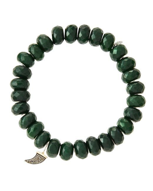 Sydney Evan   Green Design Your Own Bracelet (made To Order)   Lyst