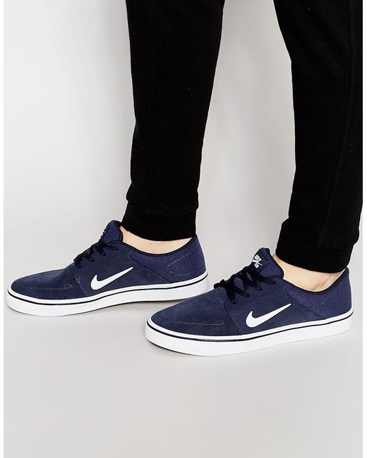 Nike | Portmore Trainers 725027-413 - Blue for Men | Lyst