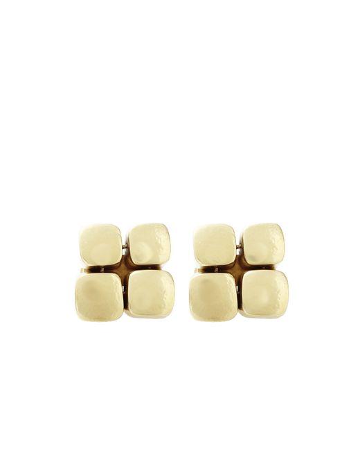 Vaubel | Metallic Four Square Clip Earrings | Lyst