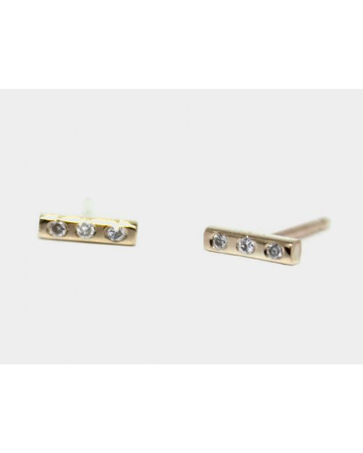 Lumo | Metallic Melissa Earrings | Lyst