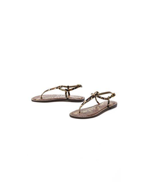Sam Edelman Gracie Sandal In Brown Save 35 Lyst