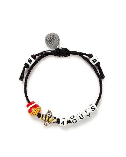 Venessa Arizaga | Black 'Fries Bee-4 Guys' Bracelet | Lyst