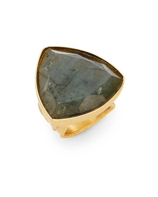 Stephanie Kantis   Metallic Faceted Labradorite Ring   Lyst