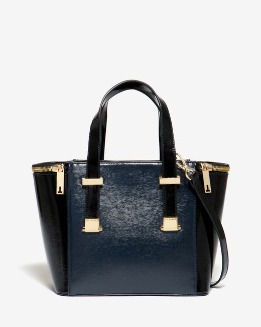 Ted Baker | Blue Small Zip Detail Tote Bag | Lyst