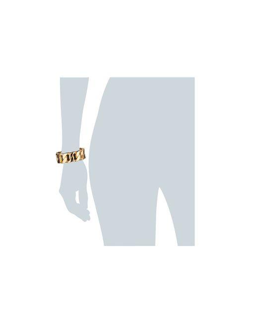 Kenneth Jay Lane | Metallic 1106bpg Bracelet | Lyst