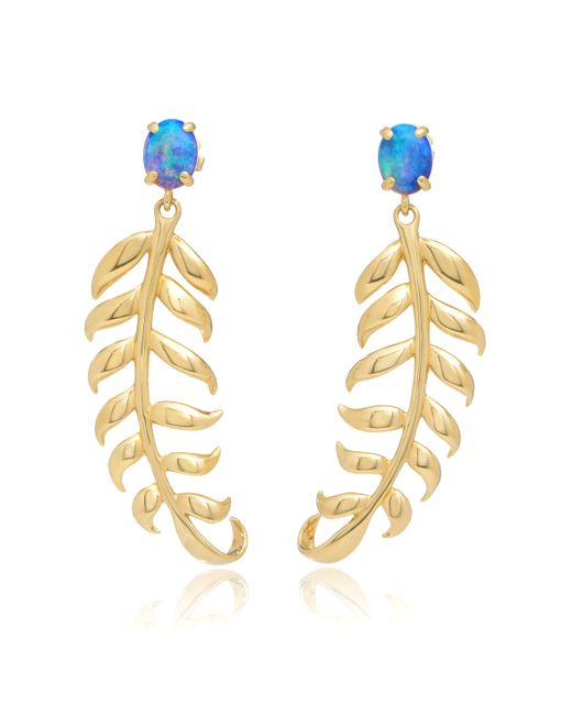 Katherine Jetter | Metallic Lady Of The Daintree Earrings | Lyst