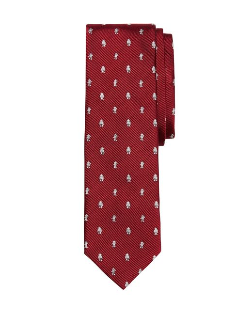 Brooks Brothers | Red Radio Slim Tie for Men | Lyst
