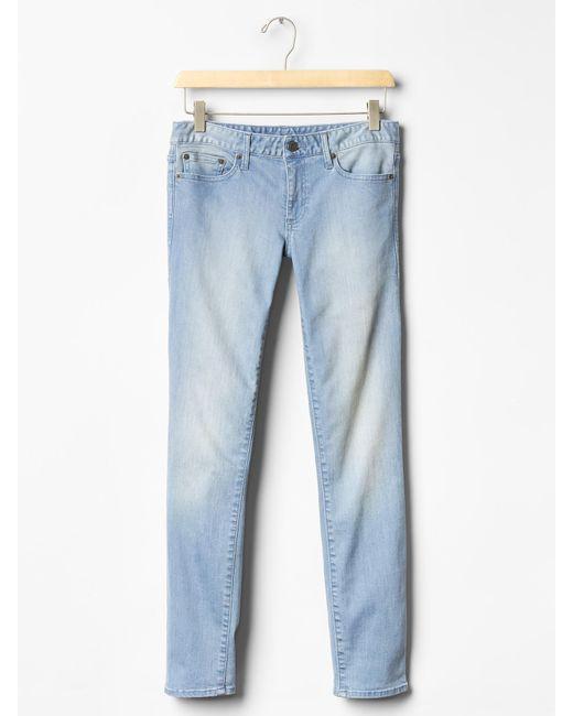 Gap | Purple Stretch 1969 True Skinny Ankle Jeans | Lyst