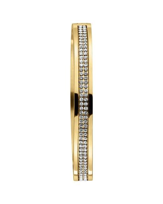 Dyrberg/Kern | Metallic Dyrberg/kern Lorbel Double Row Crystal Set Bangle | Lyst