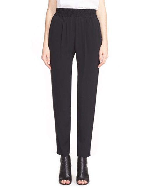 Rebecca Taylor | Black 'emma' Side Stripe Pants | Lyst