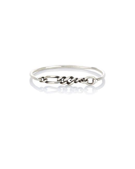 Werkstatt:münchen | Metallic Hammered Silver Bracelet for Men | Lyst