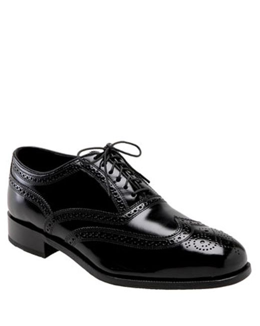 Florsheim | Black 'lexington Six-eye' Oxford for Men | Lyst