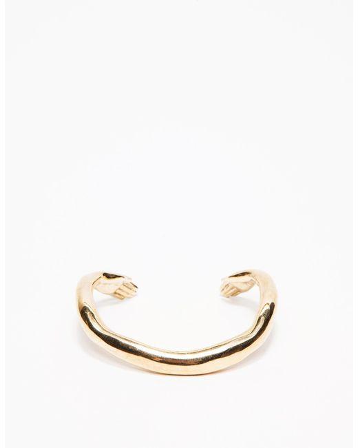 Winden Jewelry   Metallic Embrace Cuff   Lyst