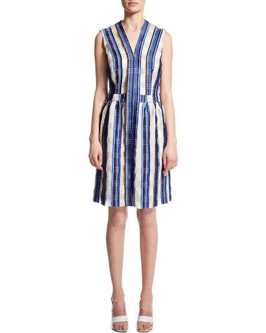 Nicole Farhi | Blue Check Dress | Lyst