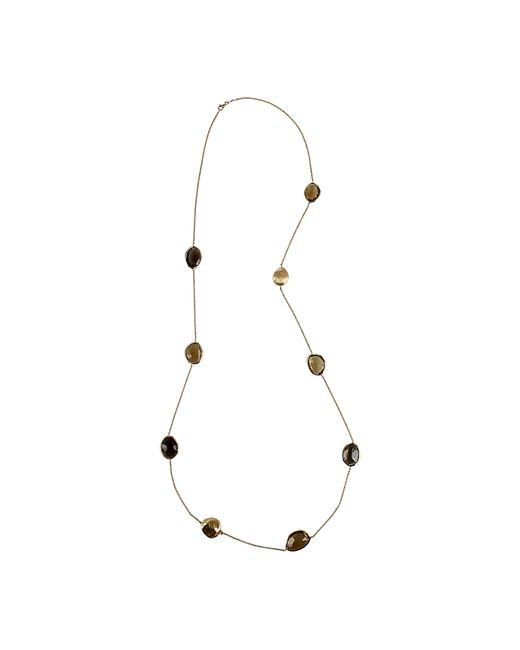 Yvel | Multicolor Multi-color Smokey Quartz Necklace | Lyst