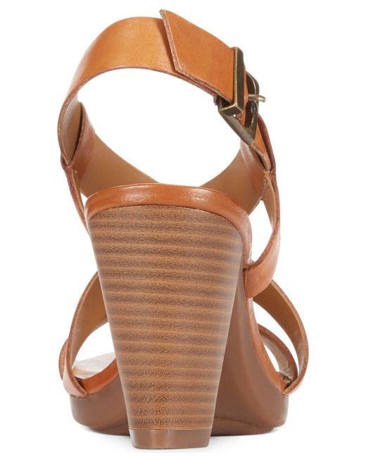 Clarks | Brown Collection Women's Jaelyn Fog Dress Sandals | Lyst
