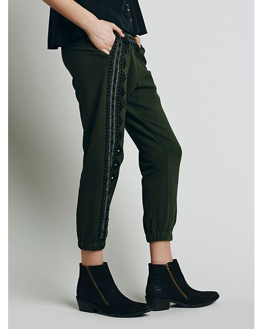 Free People   Green Fp One Three Wishes Sweatpants   Lyst