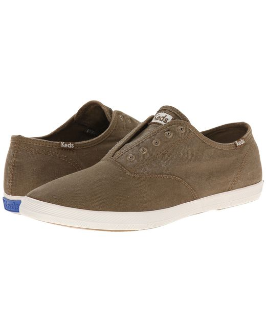 Keds | Brown Champion Chillax Washed Twill for Men | Lyst