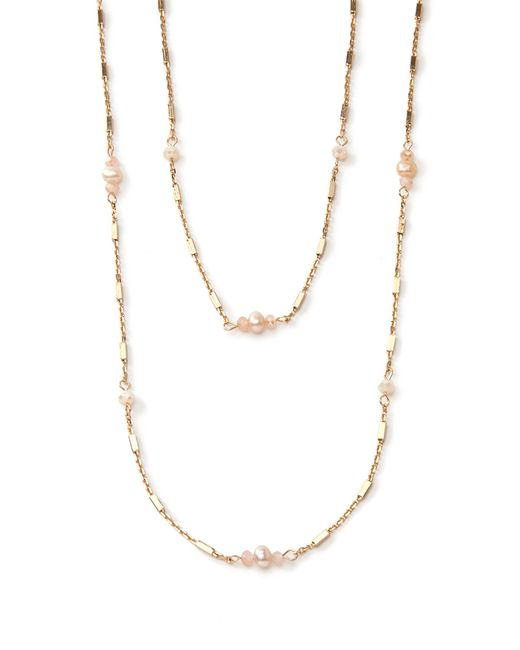 Forever 21 | Metallic Faux Pearl And Bar Necklace Set | Lyst