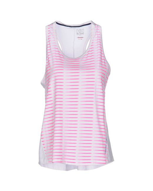 Helly Hansen | Pink Tank Top | Lyst