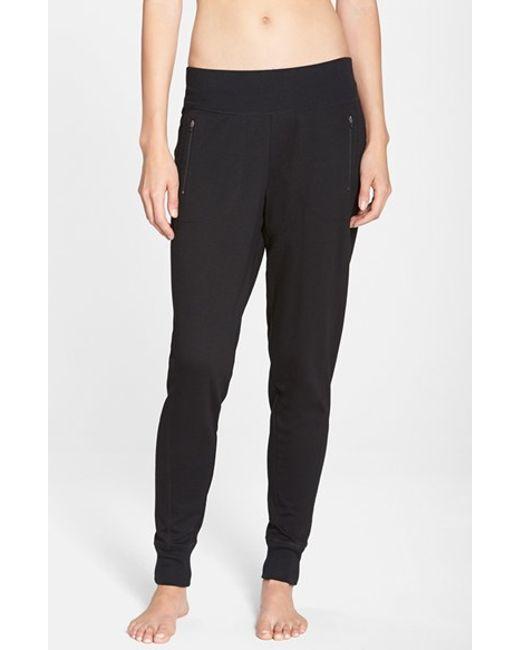 Zella | Black Keep It Up Pants | Lyst