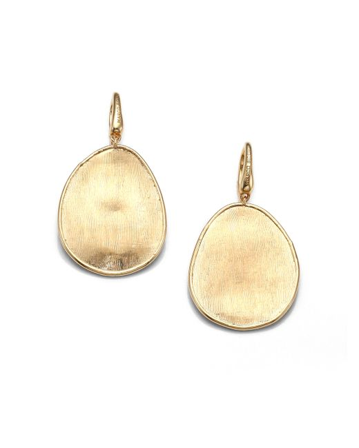 Marco Bicego | Metallic Lunaria 18k Yellow Gold Drop Earrings | Lyst