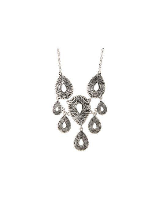 Lucky Brand | Metallic Indigo Trail Collar Necklace | Lyst