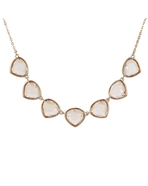 Aurora | Metallic Multi Drop Necklace | Lyst