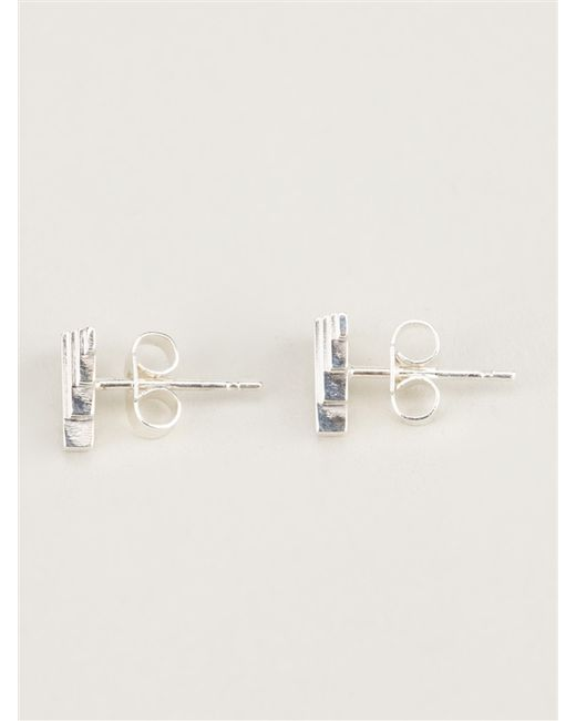 Clarice Price Thomas | Metallic 'umbra' Stud Earrings | Lyst