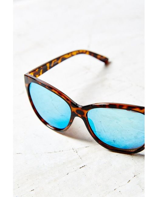 Quay | Brown About Last Night Sunglasses | Lyst